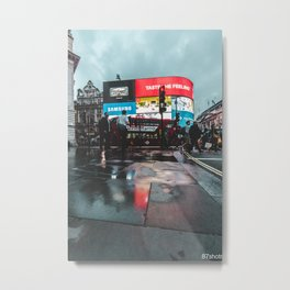 Piccadilly Reflections Metal Print