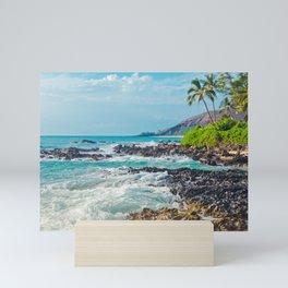 Paako Beach Blue Sensation Mini Art Print