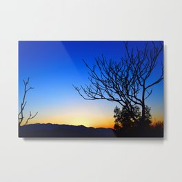 View From The Top (of The Great Wall of China) Metal Print