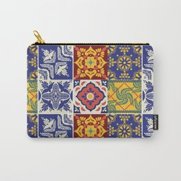 talavera mexican tile/multicolours/ Carry-All Pouch