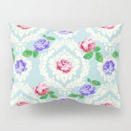 Shabby Chic Rose Pattern Pillow Sham