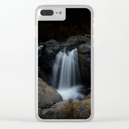 Waterfalls Clear iPhone Case
