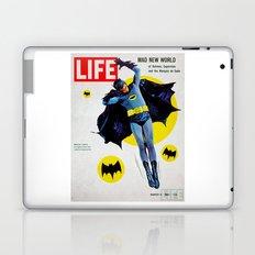 Adam West - Bat Man Life Magazine Cover Laptop & iPad Skin