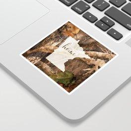 Minnesota is Home - Camo Sticker