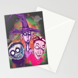 Kidnap The Sandy Claws Stationery Cards