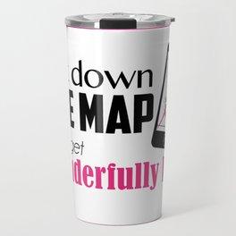 Get wonderfully lost! Travel Mug