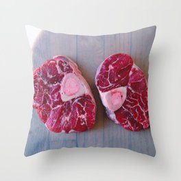 Meat Meat Meat (4) Throw Pillow