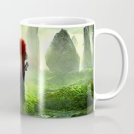 Merida The Brave - Portrait Merida Walking Coffee Mug