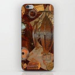 Steam Dreams - Steampunk Theme iPhone Skin