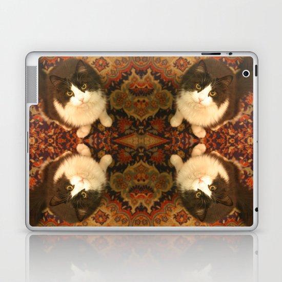 Shchuka, kaleidoscopic cat Laptop & iPad Skin