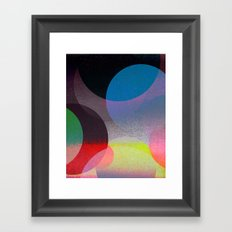 Untitled 20121006u (ANDY'S CIRCLE) Framed Art Print