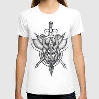viking T-shirts featuring Viking by Liz Guhl @lizaguhl