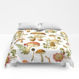 Mushroom Dreams Comforters