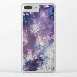 My favorite things Clear iPhone Case