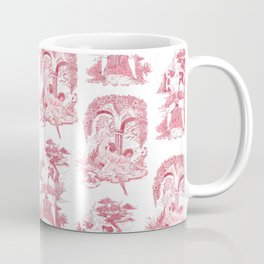 Bawdy Toile Coffee Mug