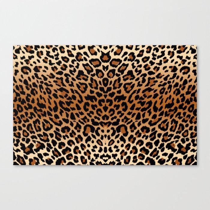 leopard pattern Leinwanddruck