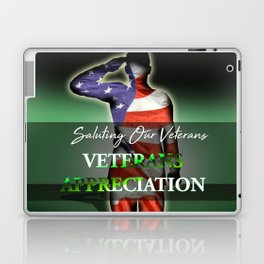 Veterans Appreciation Laptop & iPad Skin