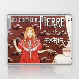 Dentifrice French belle epoque toothpaste ad Laptop & iPad Skin