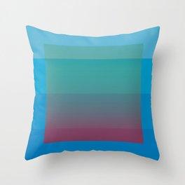 Shades Throw Pillow