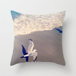 Gullwave Throw Pillow