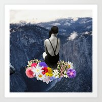 uncertainty is sign of possibilty Art Print