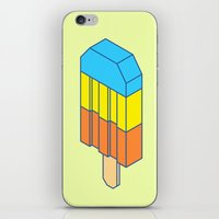 popsicle iPhone & iPod Skins featuring Popsicle by Haitham Almayman