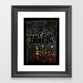 PowerDance Framed Art Print