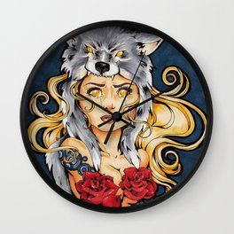 I Want You Safe Wall Clock