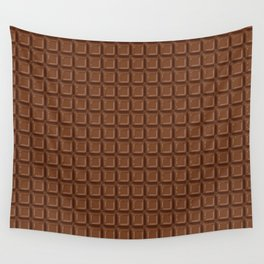 Just chocolate / 3D render of dark chocolate Wall Tapestry