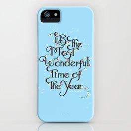 Christmas Season iPhone Case