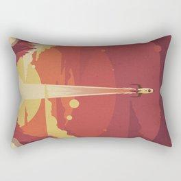 Atomic Sky Rectangular Pillow