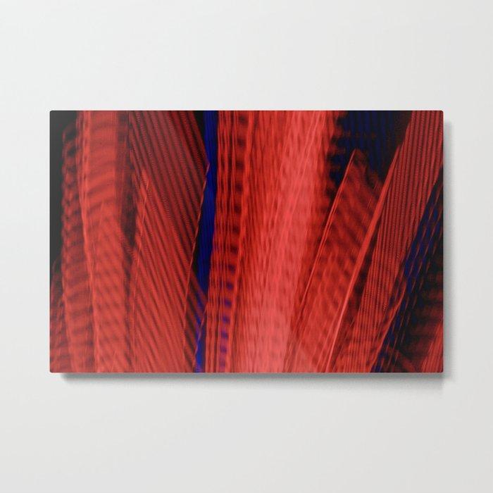 Abstract Urban Sprawl Metal Print