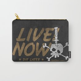 Switchblade Skull Carry-All Pouch