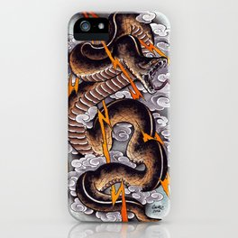 Lightning Cobra iPhone Case