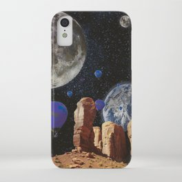 The slow trip in the universe iPhone Case
