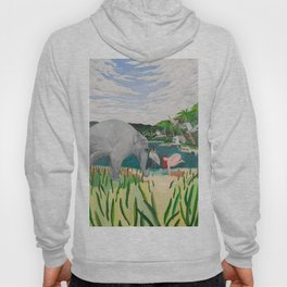 BORN ON THE WETLANDS Hoody