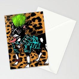 Punk Dog Stationery Cards