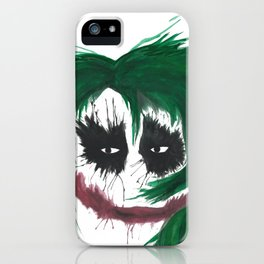 The Joker. Why so serious? iPhone Case