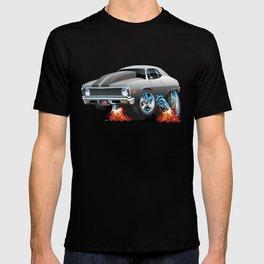 Classic American Muscle Car Hot Rod Cartoon T-shirt