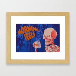 Morning feels Framed Art Print