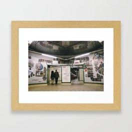 Tottenham Court Road Framed Art Print