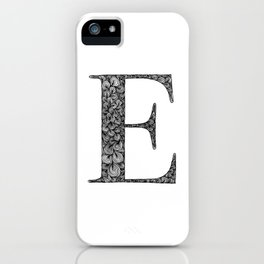 E iPhone Case