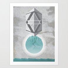 inner cataclysm Art Print