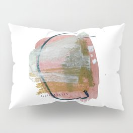 New Mexico: a pretty mixed media abstract in a variety of colors Pillow Sham