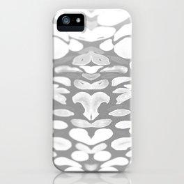 Winter has Come, Silver Romantic Nights iPhone Case