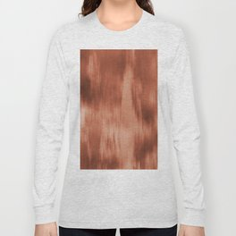 Fusion Water Color Blend Sherwin Williams Cavern Clay SW7701 Long Sleeve T-shirt