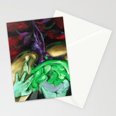 Passion purple Stationery Cards