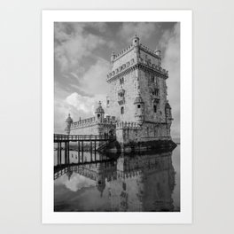 Belem Tower Lisbon 4 Art Print