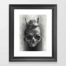 The King Is Dead, Long Live the King Framed Art Print