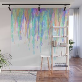 Water Color Drip 1 Wall Mural